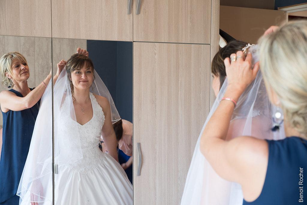 préparatifs robe